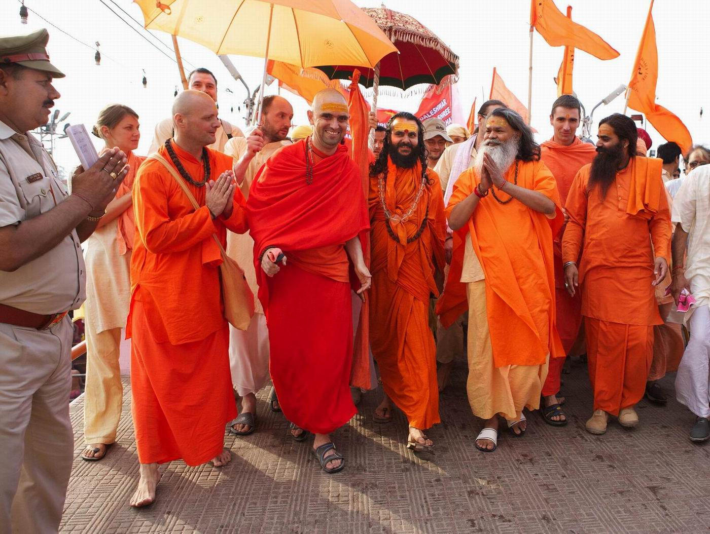 Shnan in Haridwar on 12th April 2010