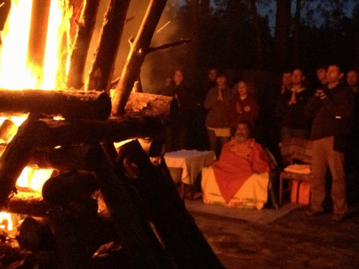 Swamiji in Ukraine – International weekend-workshop 2013