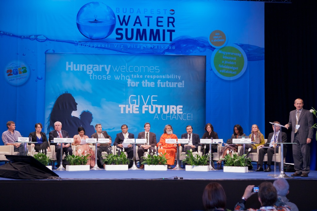 UN INTERNATIONAL WATER SUMMIT IN BUDAPEST, HUNGARY