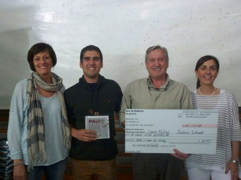 Barcelona School Humanitarian Donation for the Gyan Putra Project