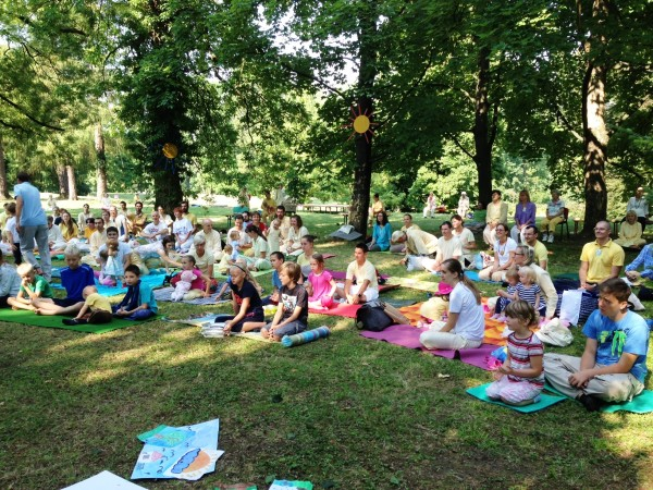 Yoga in Daily Life Summer Sadhana Camp has started