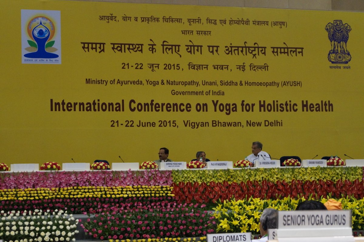 First Day of Conference on IDY