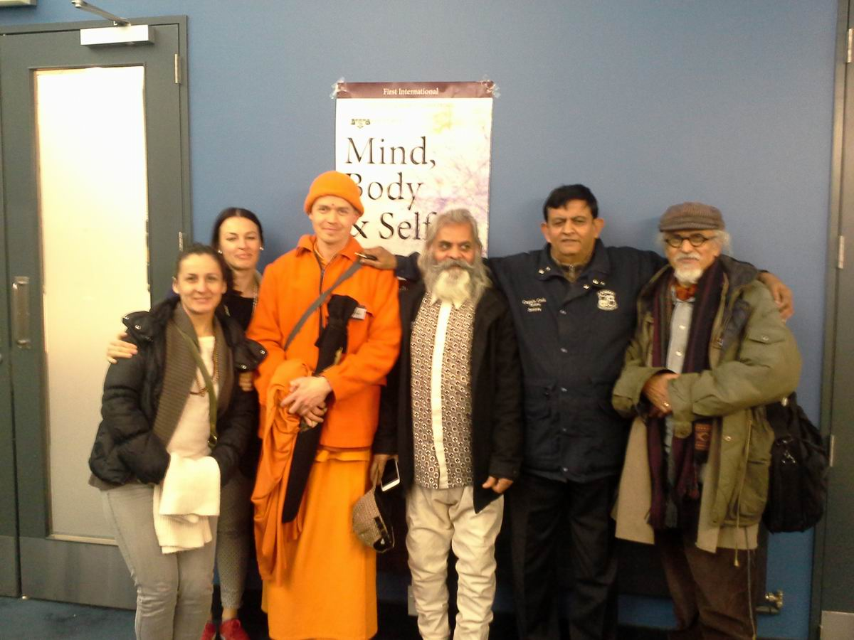 "Swami Madhuram participates in ""Mind, Body & Self"" Conference in Wellington"
