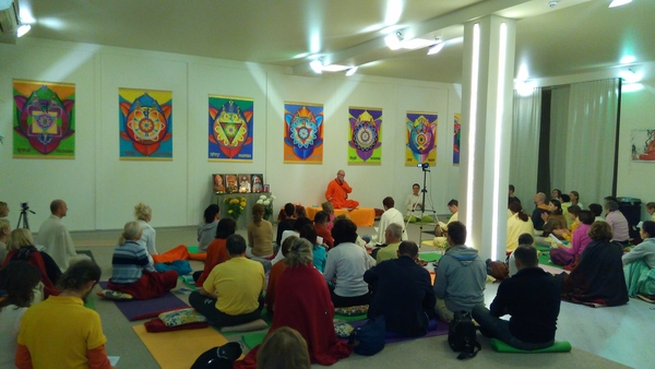 Seminar with Swami Vivekpuriji in Ukraine, November 2015