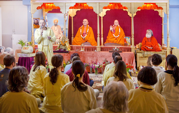 International Weekend Seminar with Vishwaguruji in Guruji Ashram, Vienna