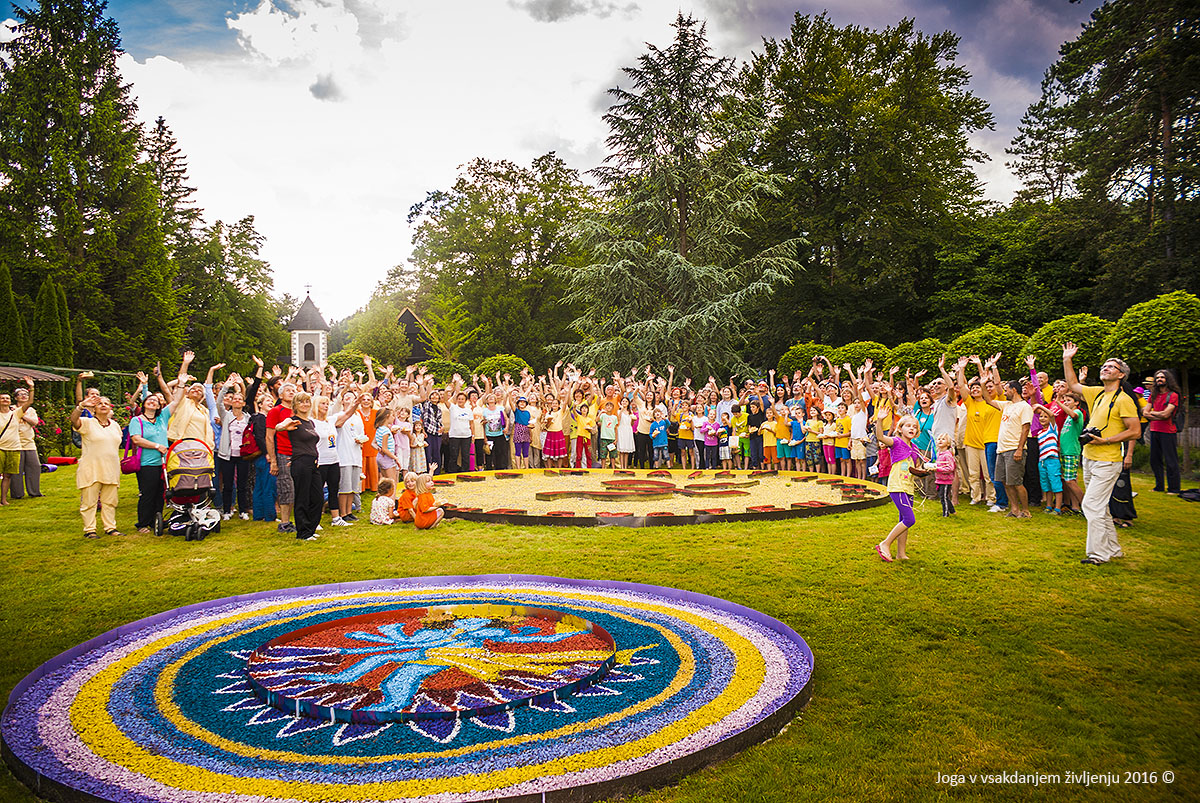 IDY 2016 - Chakras in the Flower Garden, Slovenia