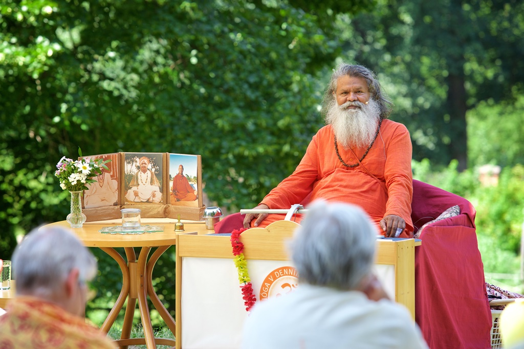 Gurupurnima celebrations and Summer Seminars in Strilky, Czech Republic