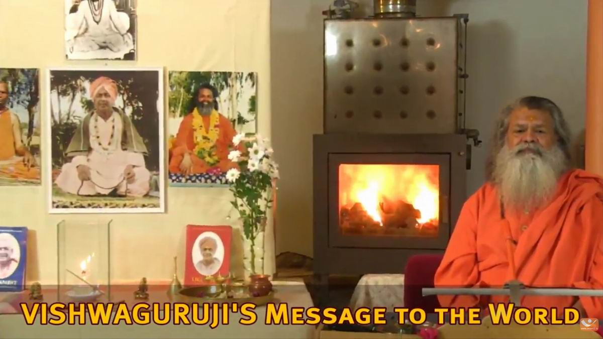 Vishwagurujis Message to the World