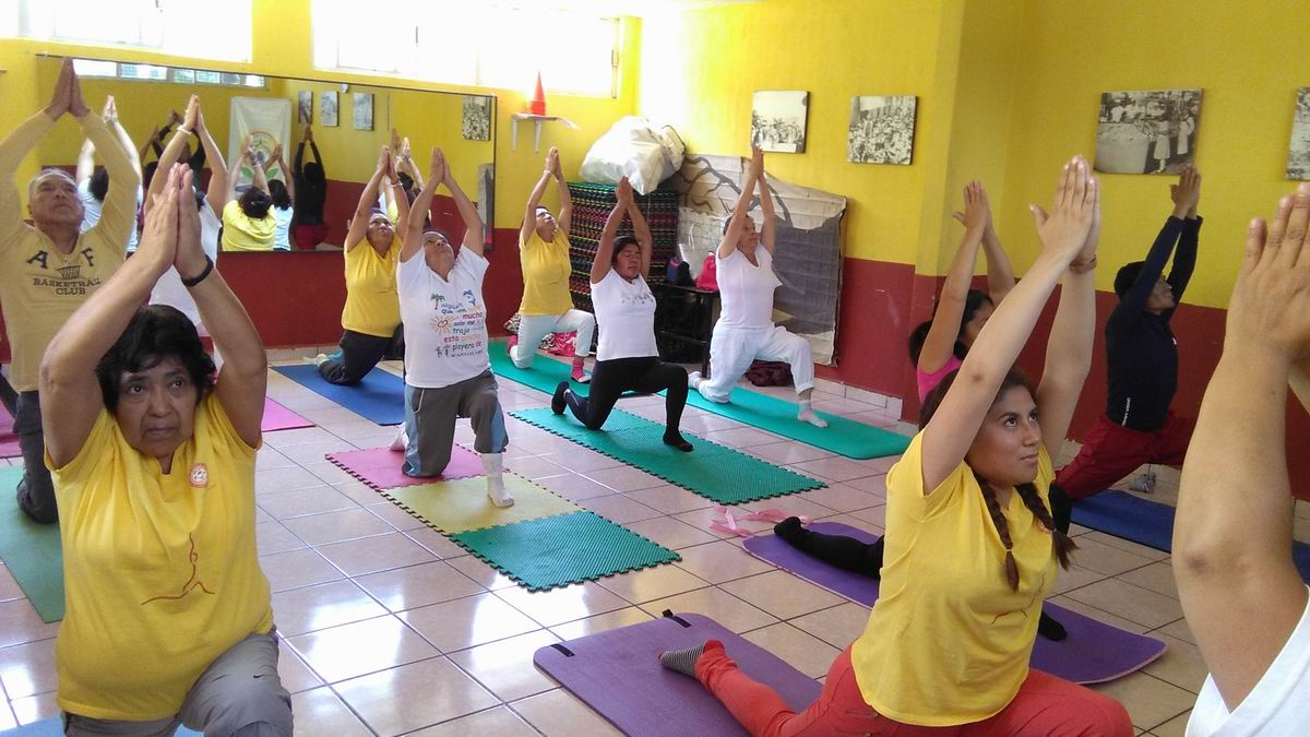 International Day of Yoga celebrated in Mexico