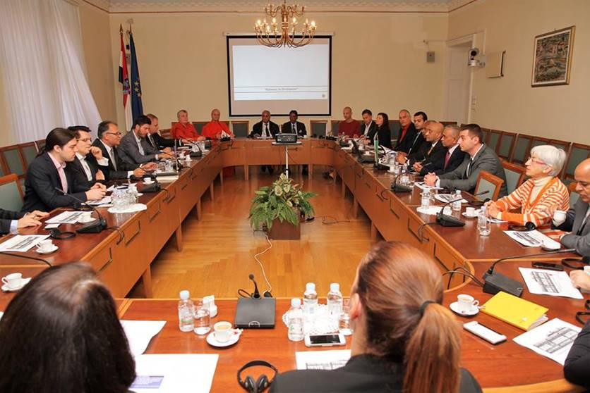 Meeting in Croatian Parliament