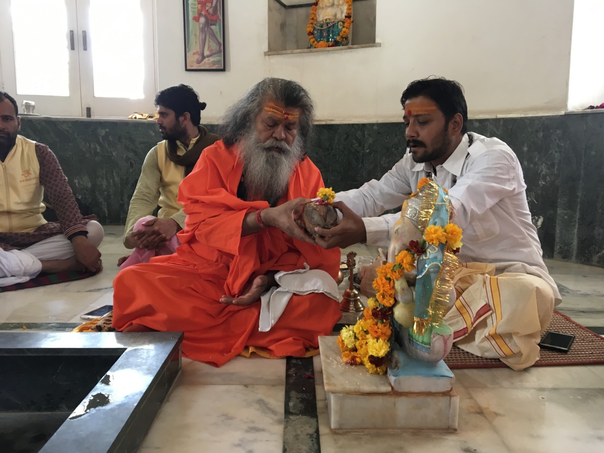 Vishwaguruji prays for World Peace