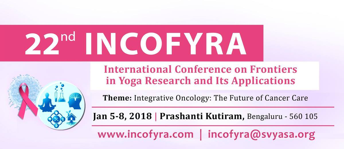 International Conference on Frontiers in Yoga Research 5-8 January, 2018