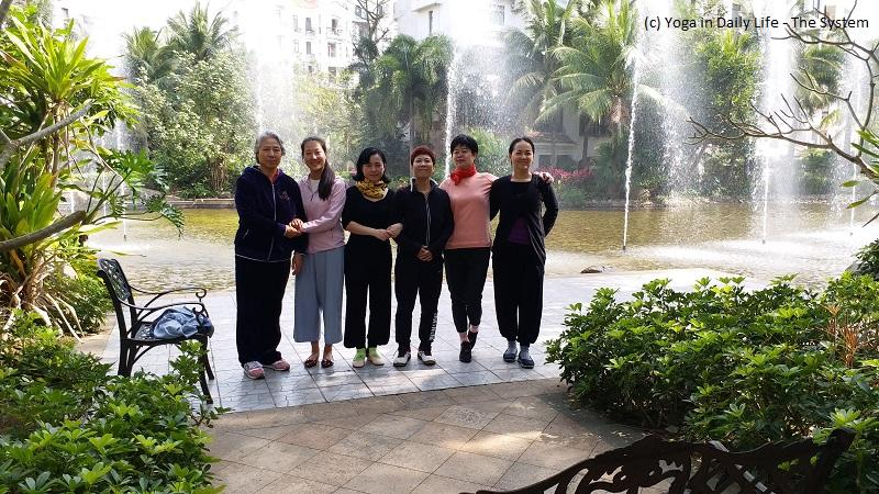 Yoga in Daily Life in Haikou, China