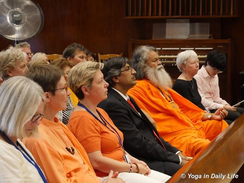 International Day of Yoga celebrations with Vishwaguruji in New York City