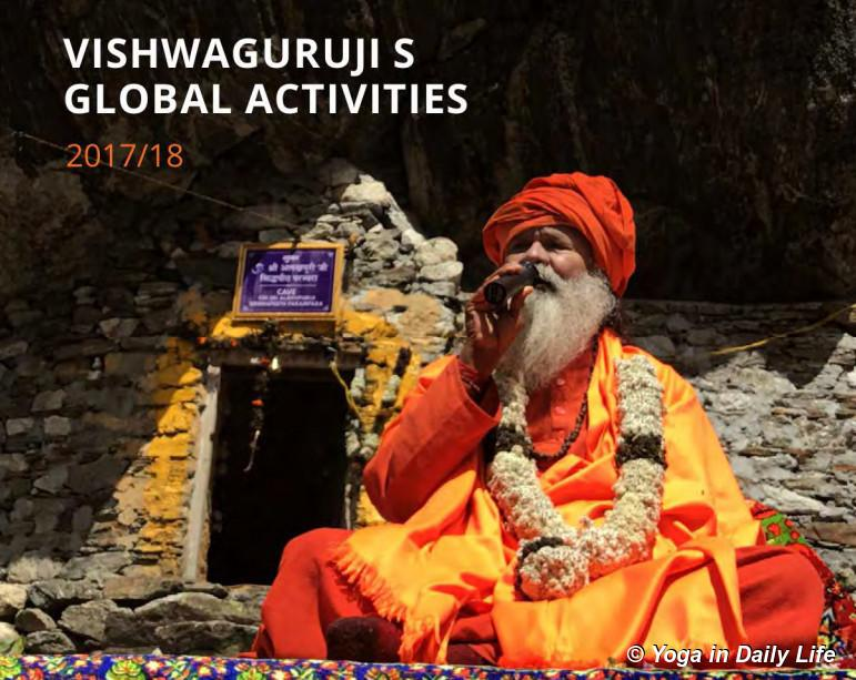 Vishwaguruji's global activities 2017 - 2018