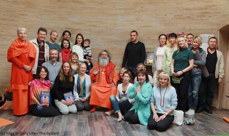 Weekend Yoga Seminar with Vishwaguruji in Ukraine