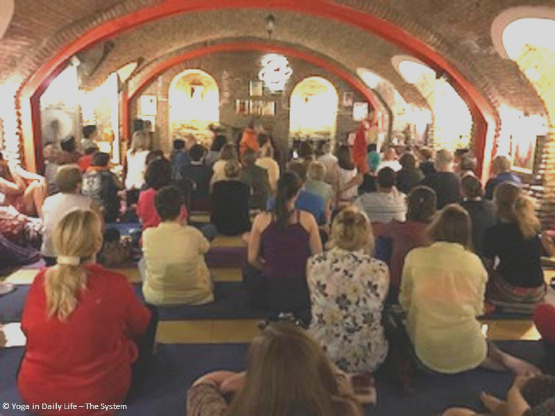 Weekend yoga program with Vishwaguruji in Tbilisi, capital of Georgia