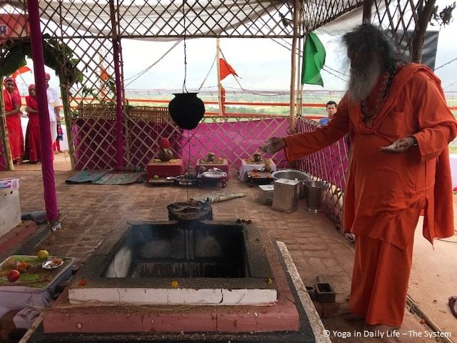 New Mandir in India inaugurated by Vishwaguruji