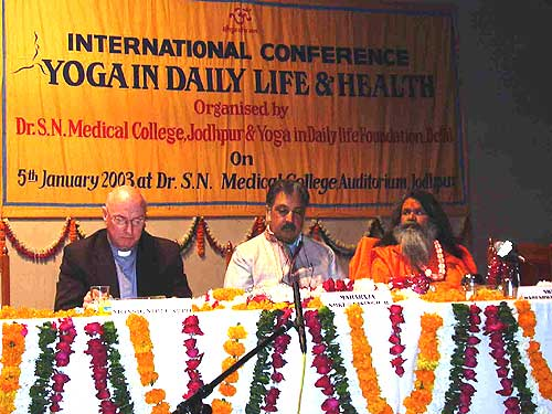International Conference on Yoga in Daily Life & Health in Jodhpur
