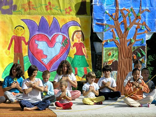 Play performance \'We love Sun and Earth and trees and rivers, all living creatures\'