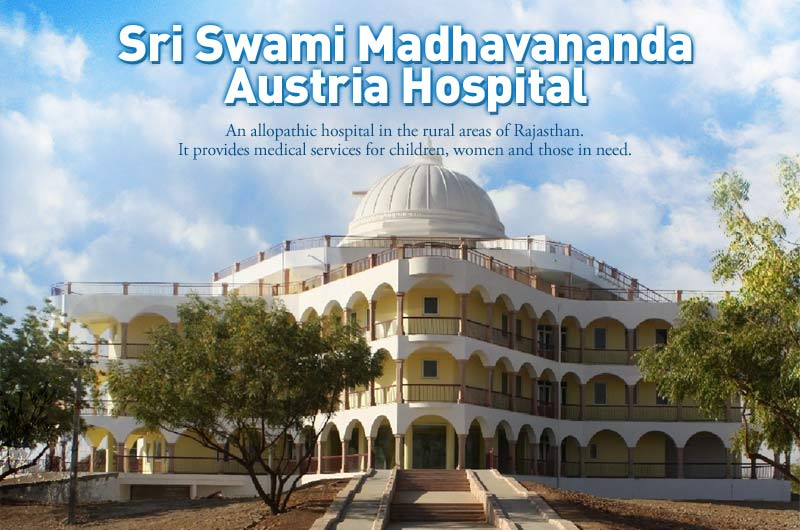 Official opening of the Sri Swami Madhavananda Austria Hospital