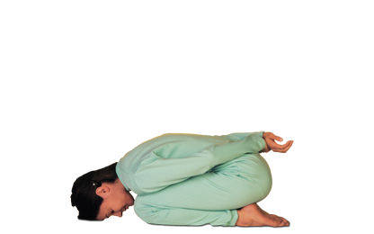 4 – 8 Yoga Mudra Forward Bend Sitting on the Heels