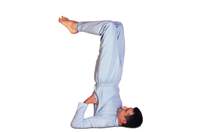7 – 6 Sarvangasana – Variation Shoulderstand - Variation